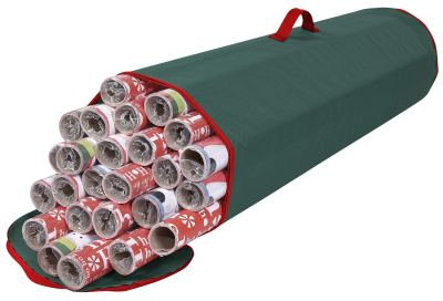 Wrapping Paper Organizer Under Bed Storage Bag
