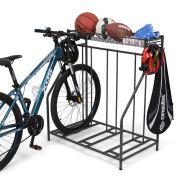 Bike Stand Rack, 3 Bicycle Floor Parking Stand