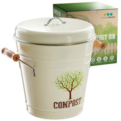 Third Rock Compost Bin for Kitchen Counter