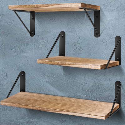 AIBORS Floating Shelves for Wall, Rustic Wood Wall Shelves Decor Set