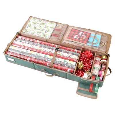 Gift Wrapping Paper Storage containers