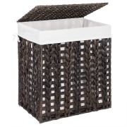SONGMICS Handwoven Laundry Hamper