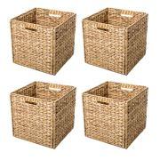 Storage Baskets with Iron Wire Frame