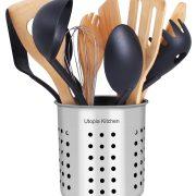 Kitchen Stainless Steel Cooking Utensil Holder