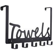 The Door Towel Rack Holders Heavy-Duty Organizer