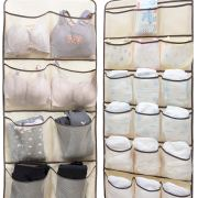 Dual-Sided Hanging Closet Organizer for Underwear