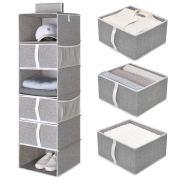 StorageWorks 6-Shelf Hanging Closet Shelves