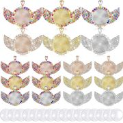 Pendant Trays with Wing Style Pendant and Round Glass