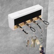 Guitar Keychain Holder Jack lectric Key Rack