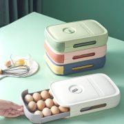 Refrigerator Eggs Holder Organizer Box