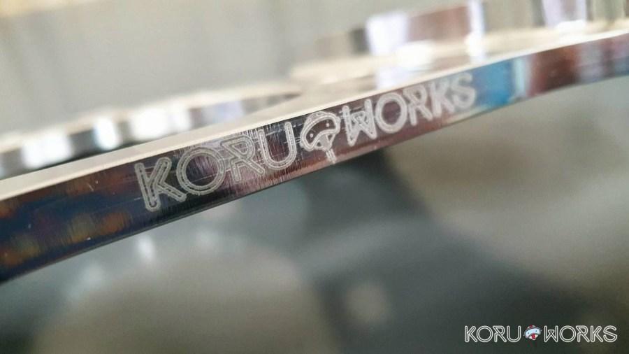 KoruWorks Dual Caliper Bracket Kit 350Z G35