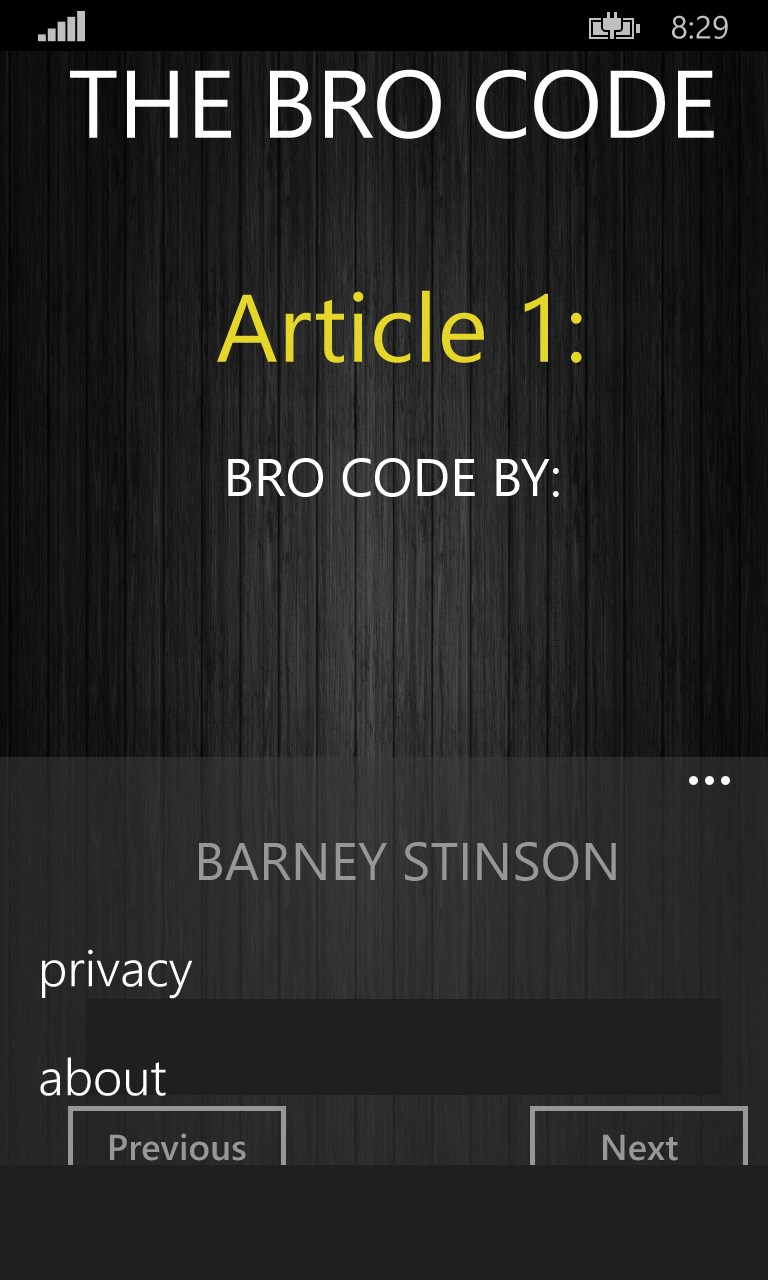 bro code free windows