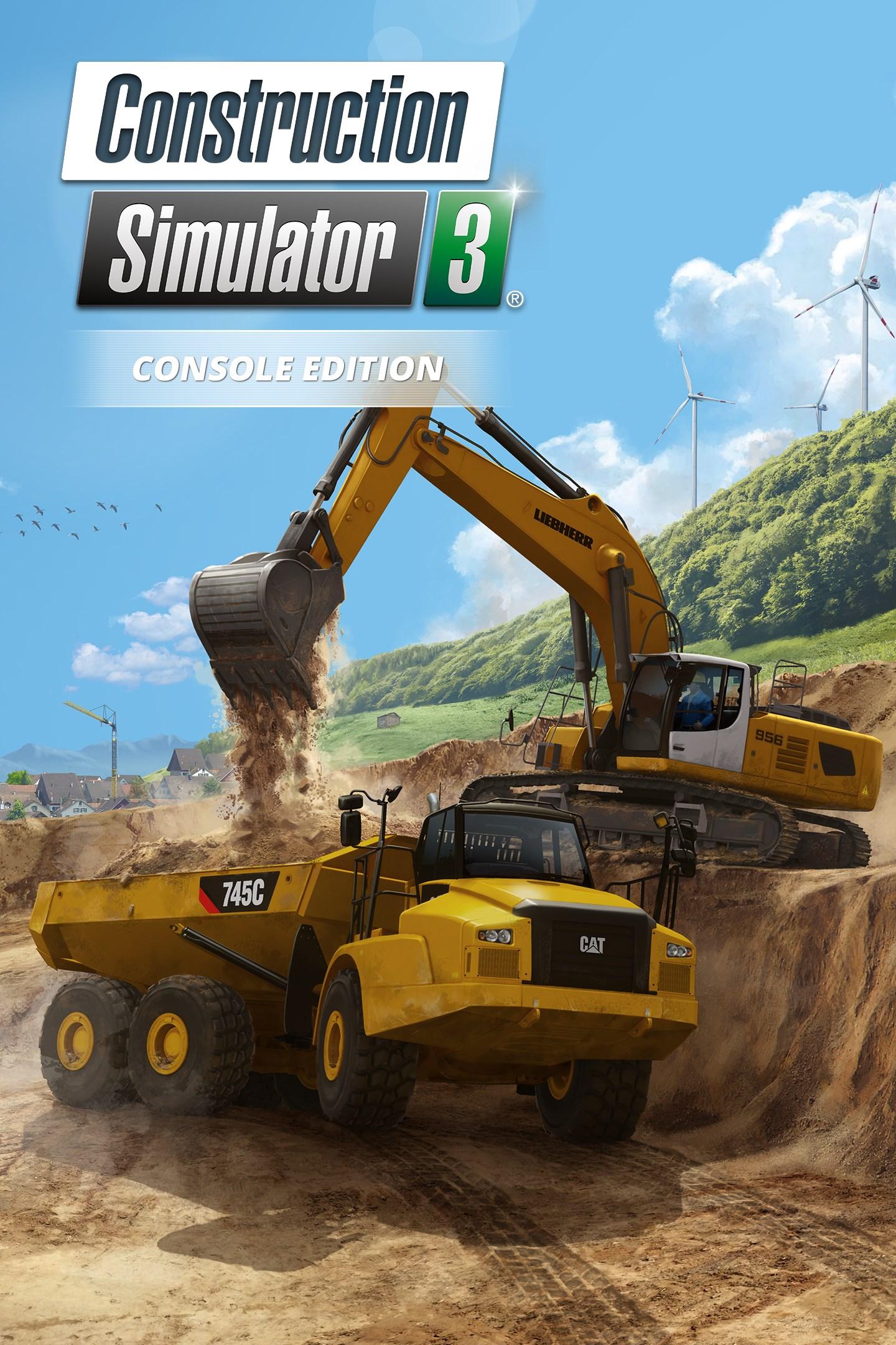 Construction Simulator 3 Pc : construction, simulator, Construction, Simulator, Console, Edition, Microsoft, Store, En-IN
