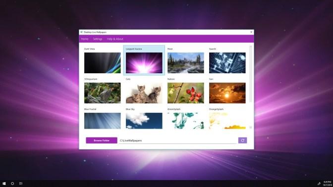 get desktop live wallpapers
