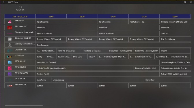 Myiptv Player For Windows 10 Free Download On 10 App Store