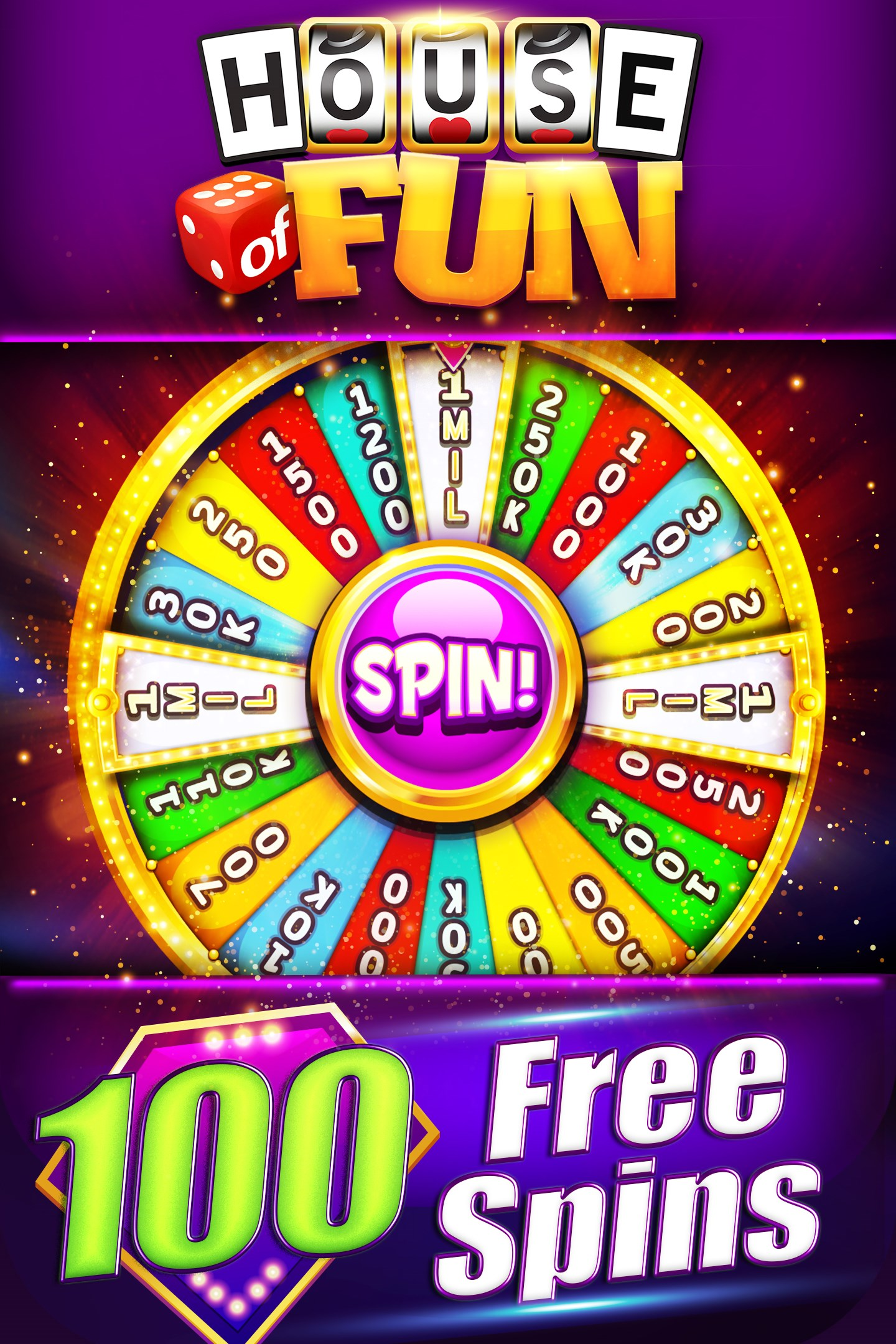 50 Free Spins House Of Fun
