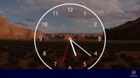 Nightstand Analog Clock for Windows 10