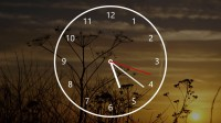 Nightstand Analog Clock for Windows 10