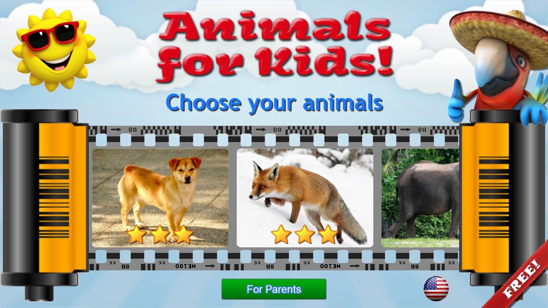 get animals for kids