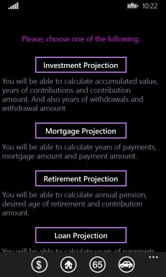 Buy Wealth Projection Calculator - Microsoft Store