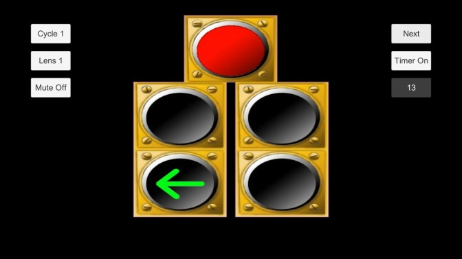 get my traffic light