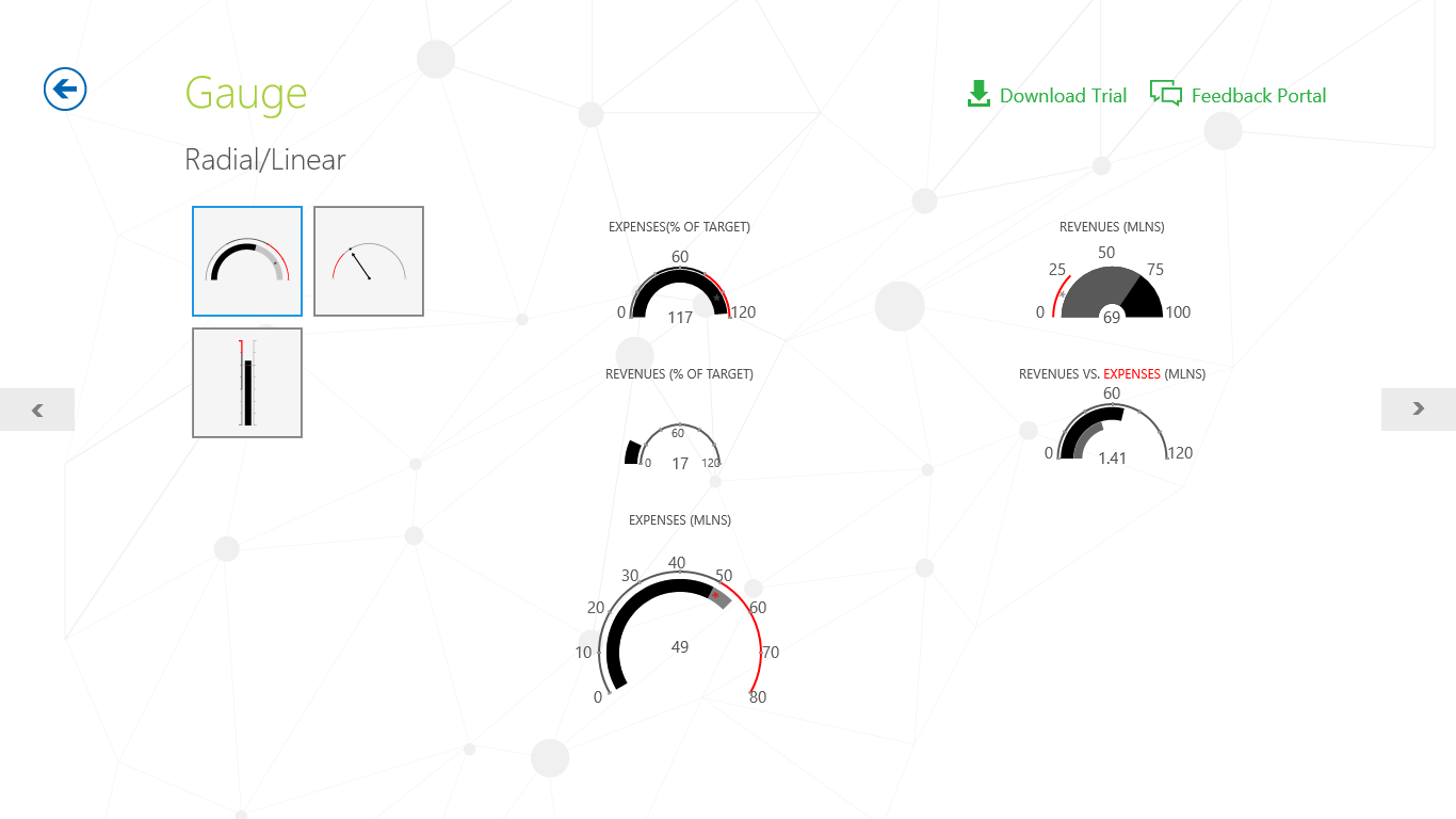 Telerik Controls Examples (XAML) for Windows 10
