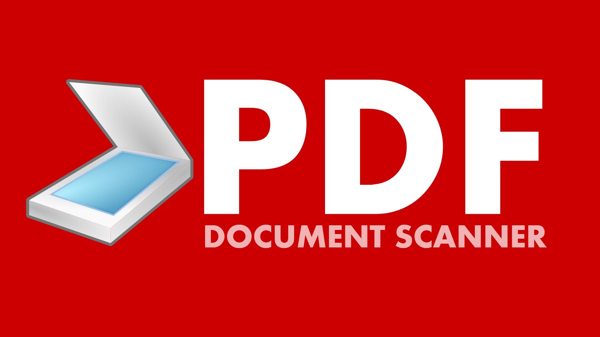 hight resolution of pdf document scanner