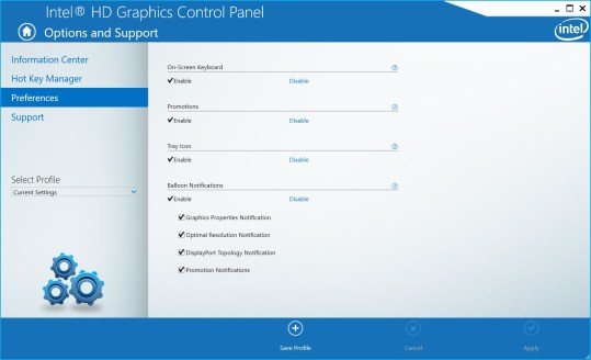 Intel® Graphics Control Panel PC Download Free - Best Windows 10 Apps