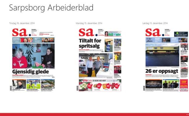 Sarpsborg Arbeiderblad For Windows 10