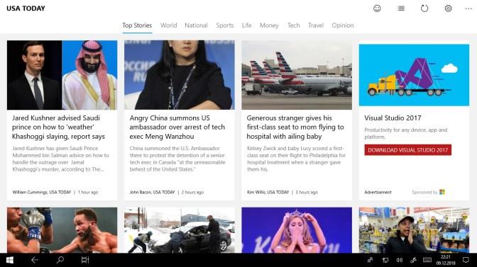 get news reader for