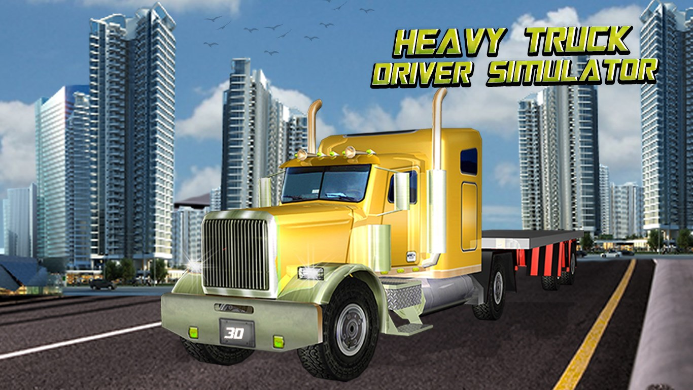 Heavy Truck Driver Simulator 3D  City Cargo Duty for Windows 10 Mobile