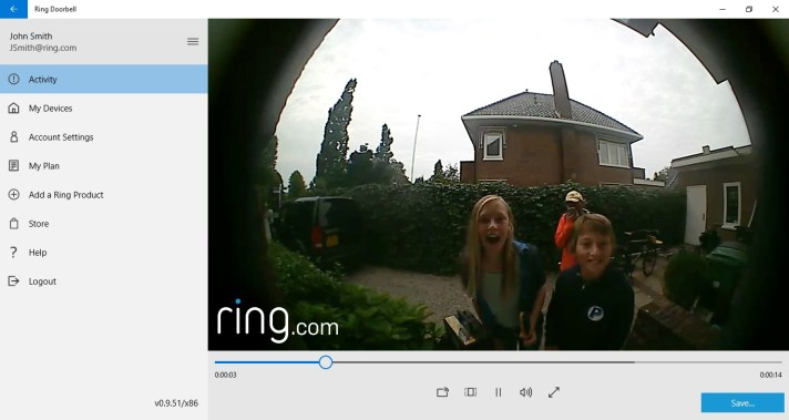 Ring Video Doorbell app updated with Stick Up Cam support