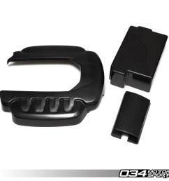 carbon fiber engine cover package 8v audi s3 034 1zz 1000 [ 1200 x 1200 Pixel ]