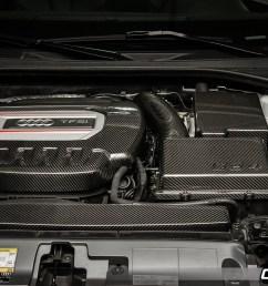 carbon fiber engine cover package 8v audi s3 034 1zz [ 1200 x 800 Pixel ]