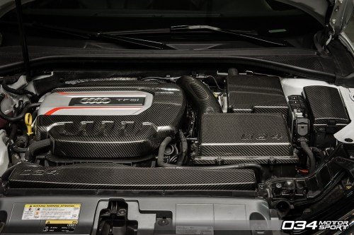 small resolution of carbon fiber engine cover package 8v audi s3 034 1zz