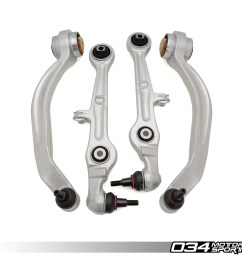 density line lower control arm kit for b6 b7 audi a4 s4 rs4 [ 1200 x 1200 Pixel ]