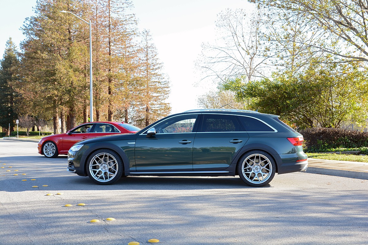 hight resolution of  2017 audi allroad with dynamic lowering springs by 034motorsport 034 404 1001