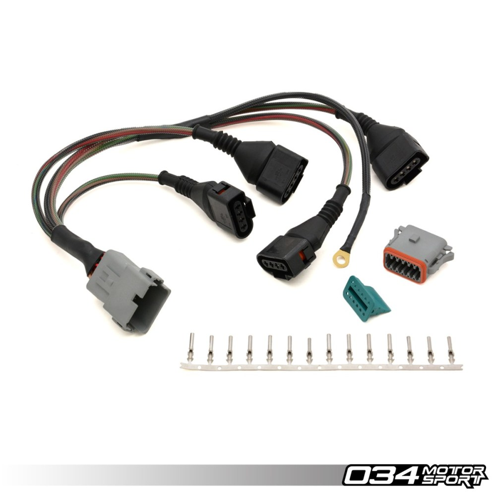 medium resolution of repair update harness audi volkswagen 1 8t with 4 wire coils