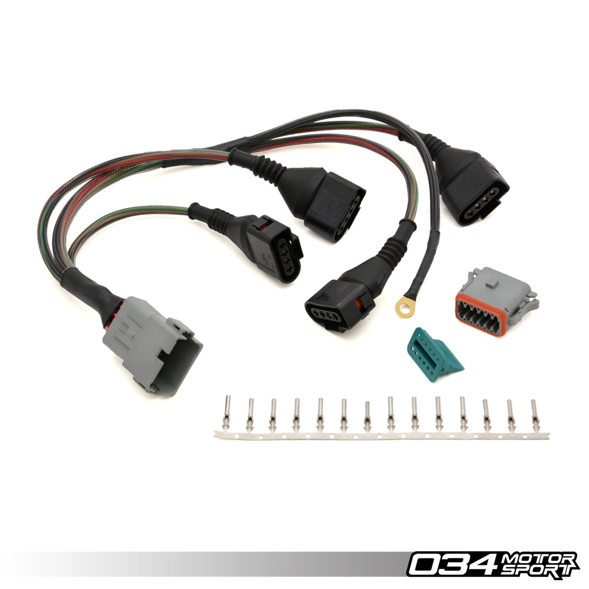hight resolution of repair update harness audi volkswagen 1 8t with 4 wire coils 034 wire harness building