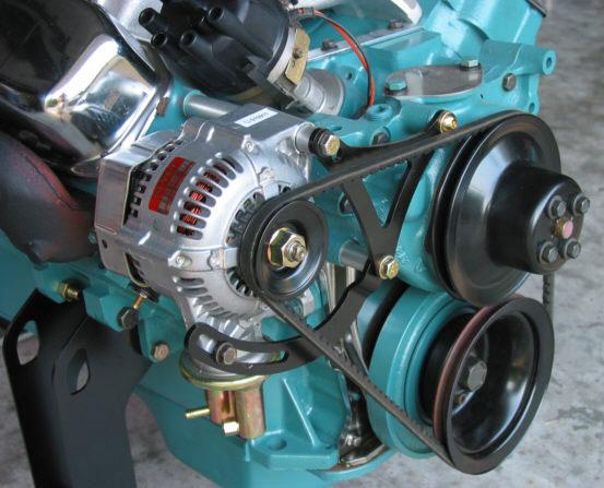 Amp Gauge Wiring Diagram 1968 Chevy Lightweight Alternator Retrofit Kit 440 Source