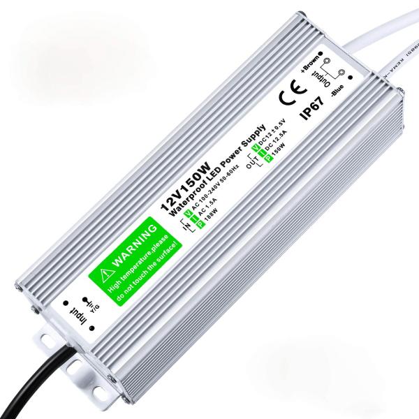 Waterproof LED Power Supply 12V 150W 00