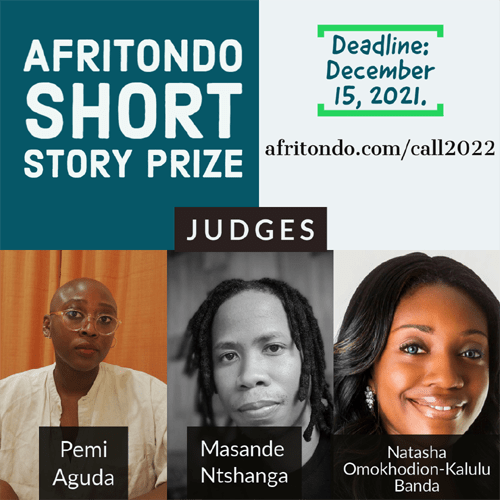 Theme, Judges Announced for Afritondo Short Story Prize 2022
