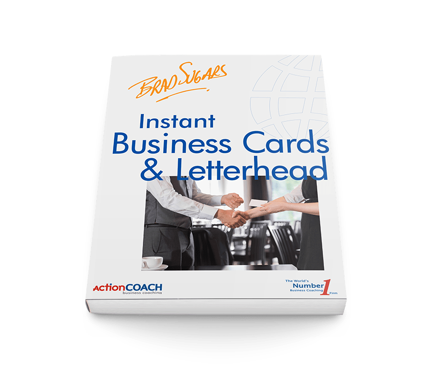 Ebook Instant Business Cards And Letterheads Actioncoach Team