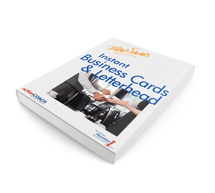 eBook: Instant Business Cards and Letterheads – ActionCOACH Team ...