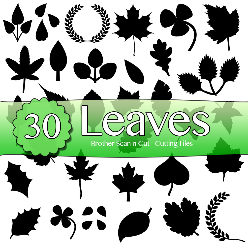 Download 30 Leaves - Brother Scan n Cut Cutting Files