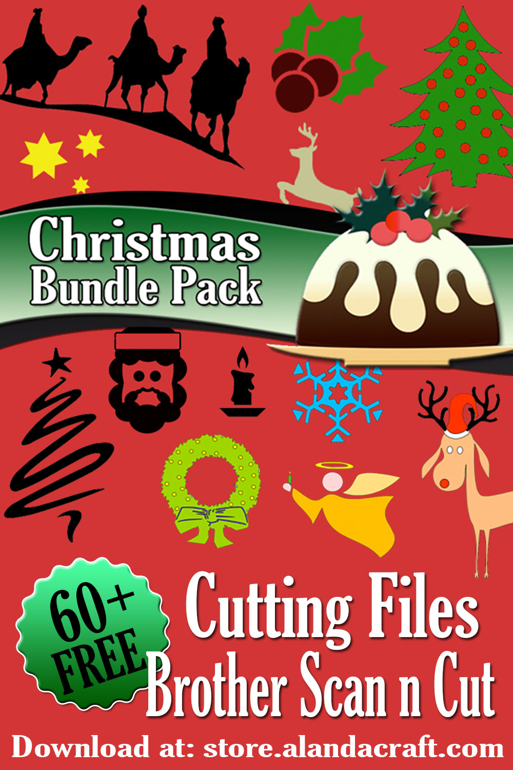 Download Brother Scan n Cut - Christmas Bundle Pack - FREE DOWNLOAD ...