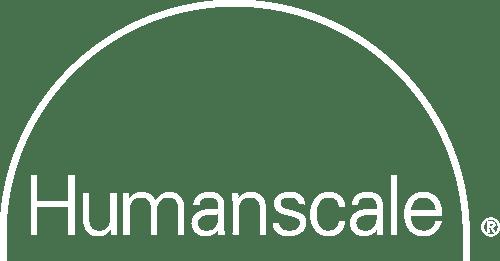 humanscale logo white