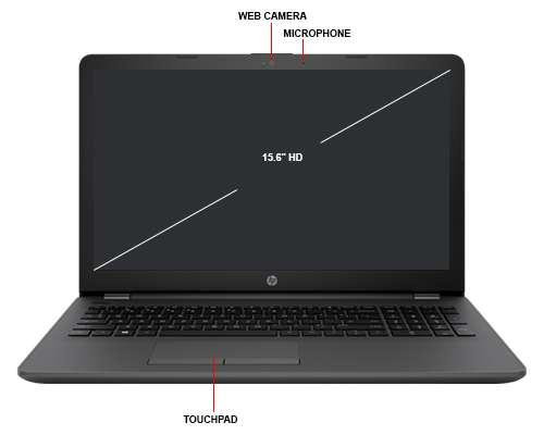 Laptop HP 250 G6 i3 6006U 2 GHz 4GB 500 GB