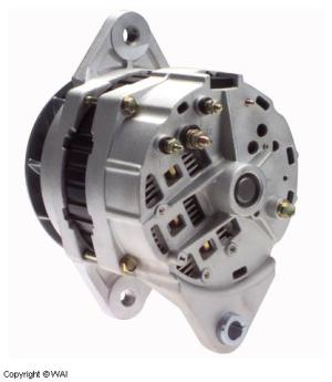 # 1191500DR1  Alternator, DelcoRemy type, without pulley