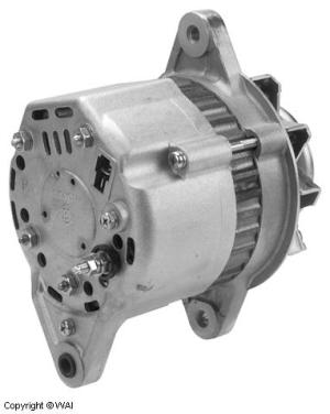 # 123120HI  Alternator  Hitachi type 35 Amp, 12 Volt, CW, 1Groove Pulley
